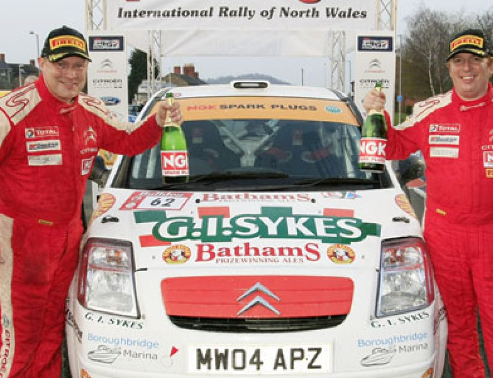 Bathams-backed car heads rally championship leaderboard