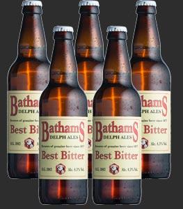 Batham's Best Bitter in Bottles