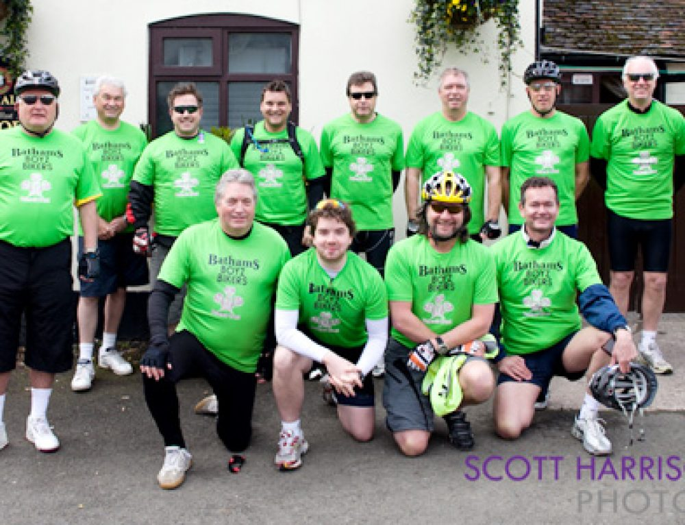 Businessmen Saddle up for 45 Mile Charity Challenge